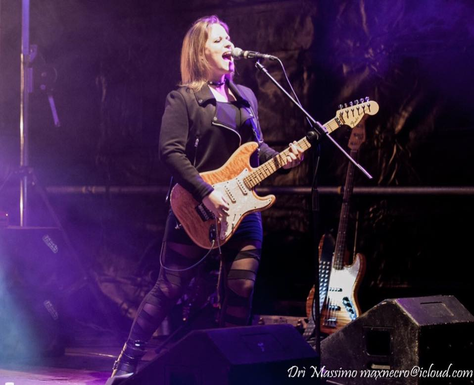 Eliana Cargnelutti Blues Rock Band Electric Woman IMAGE
