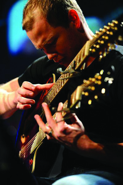 Ian Ethan Case Chitarra Acustica Doppio Manico 18 corde (Acoustic double-neck guitars) IMAGE