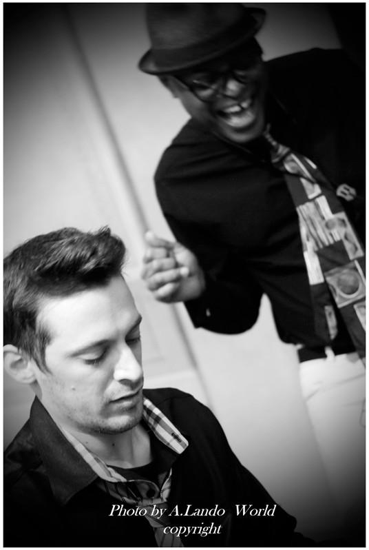 James Thompson Sax Voce Blues R&B Soul Zucchero & Claudio Vignali 2et IMAGE
