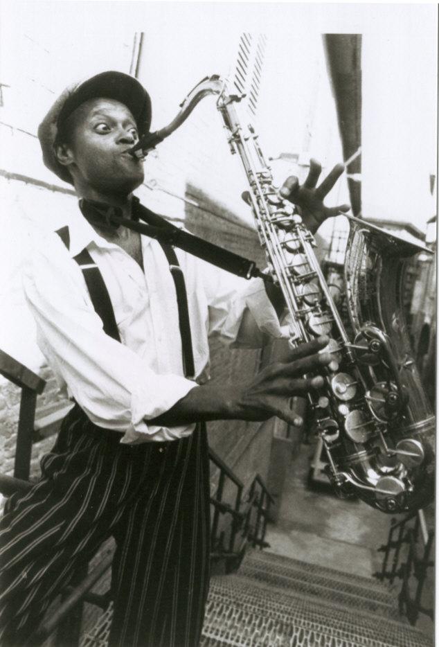 James Thompson Sax Voce Blues R&B Soul Zucchero IMAGE