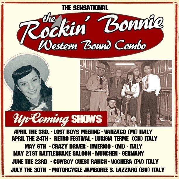 Rockin Bonnie Western Bound Combo Rockabilly Country Western Swing IMAGE