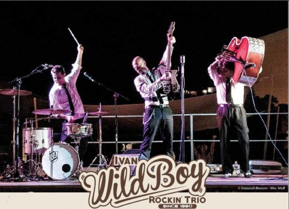 Zena Rockabilly Festival Genova 2019-11-16 ivan wildboy trio IMAGE